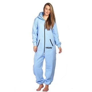 Lazzzy ® Light Blue Jumpsuit Onesie Overall