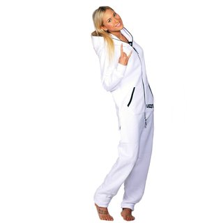 Lazzzy ® Snowy White Jumpsuit Onesie Overall