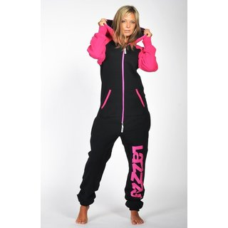 Lazzzy ® DUO Black / Pink Jumpsuit Onesie Overall