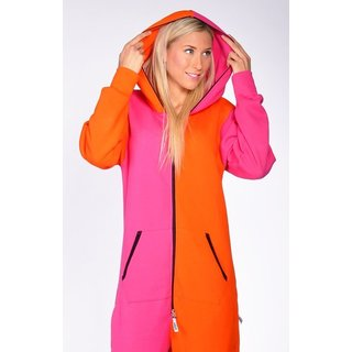 Lazzzy ® Pink / Orange Jumpsuit Onesie Overall