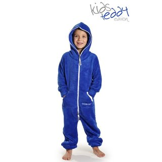 Lazzzy ® Royal Blue Teddy Kids Jumpsuit Onesie Overall