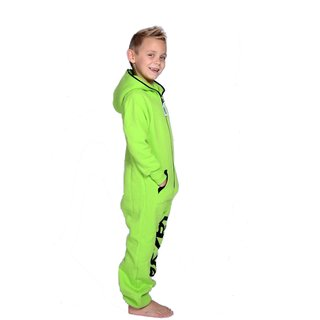 Lazzzy ® Acid Green Kids Jumpsuit Onesie Overall
