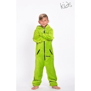 Lazzzy ® Limet Green Teddy Kids Jumpsuit Onesie Overall