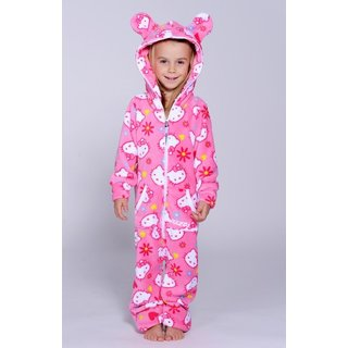 Lazzzy ® Hello Kitty Teddy Kids Jumpsuit Onesie Overall