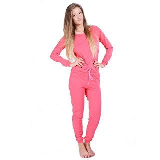 Lazzzy ® SUMMY Pink Jumpsuit Onesie Overall