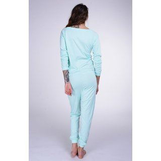 Lazzzy ® SUMMY Light Emerald grün Jumpsuit Onesie Overall