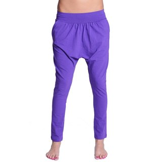 Lazzzy ® COMFY Pants Purple Torquoise türkis lila