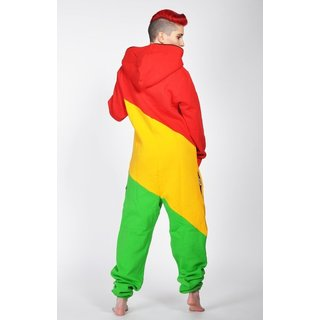 Lazzzy ® LIMITED Rasta tricolor Jumpsuit Onesie Overall